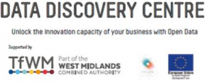 Logo for Data Discovery Centre at Traffex
